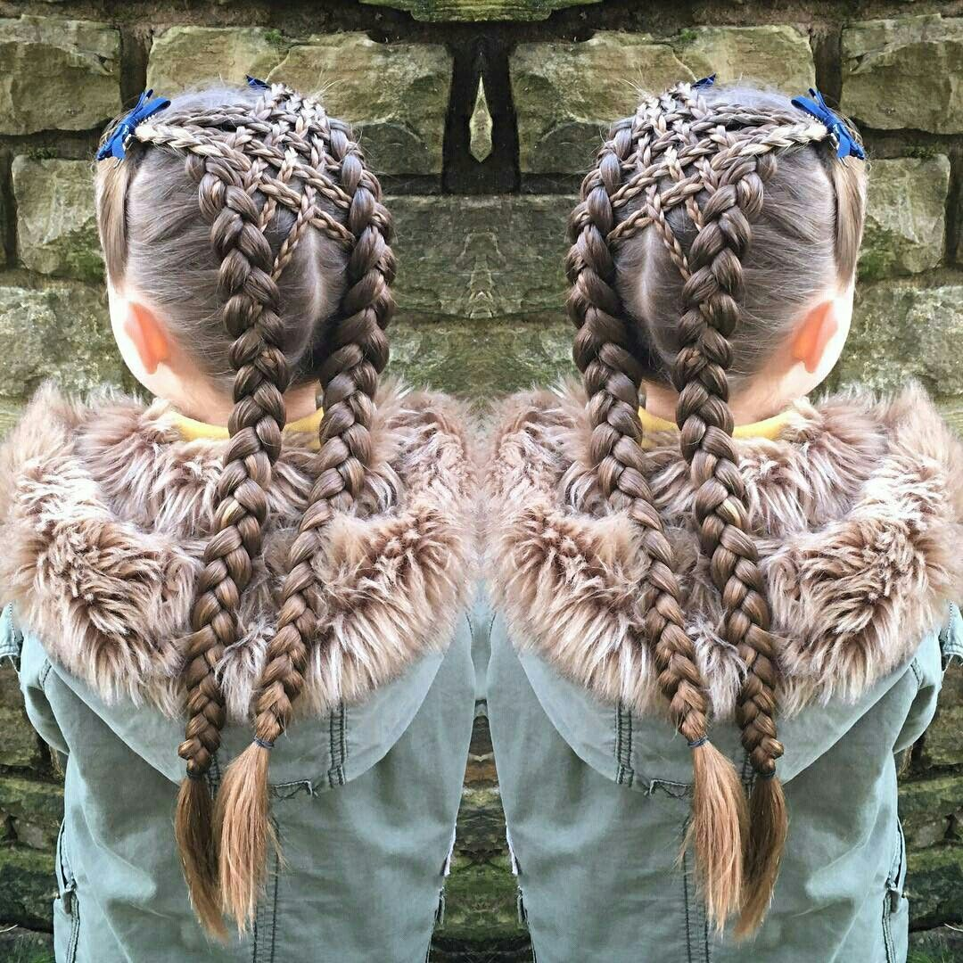 Fancy braids.