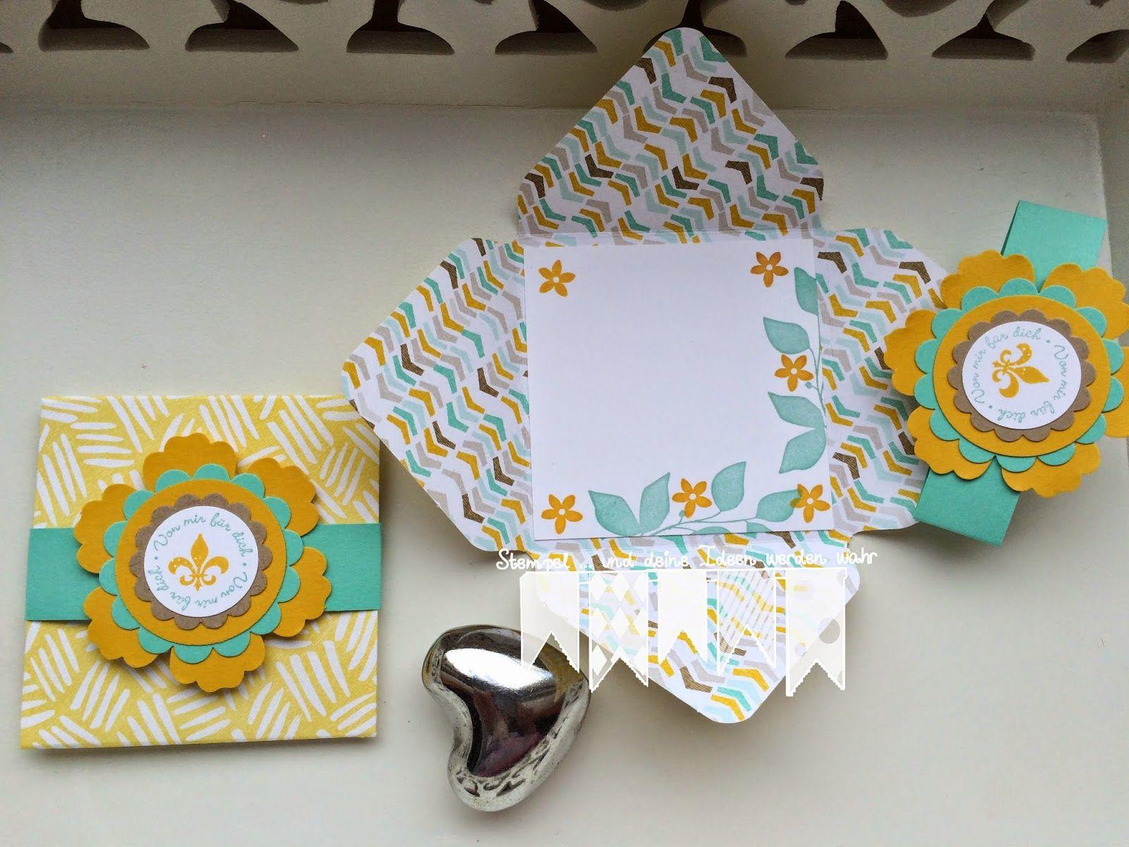 Versteckte Mini Karten ~ STEMPEL...und deine Ideen werden wahr...