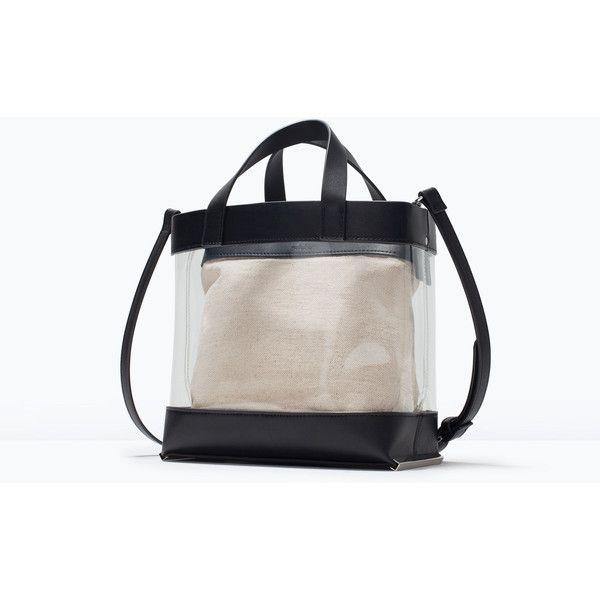 Zara Vinyl Tote 185 Sar Liked On Polyvore Featuring Bags Handbags Tote Bags Zara Tote Bag Zara Handb Zara Handbags Shopper Bag Zara Tote Bags