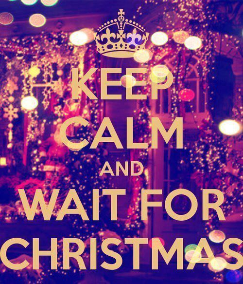 Waiting Merry Little Christmas Christmas Christmas Time