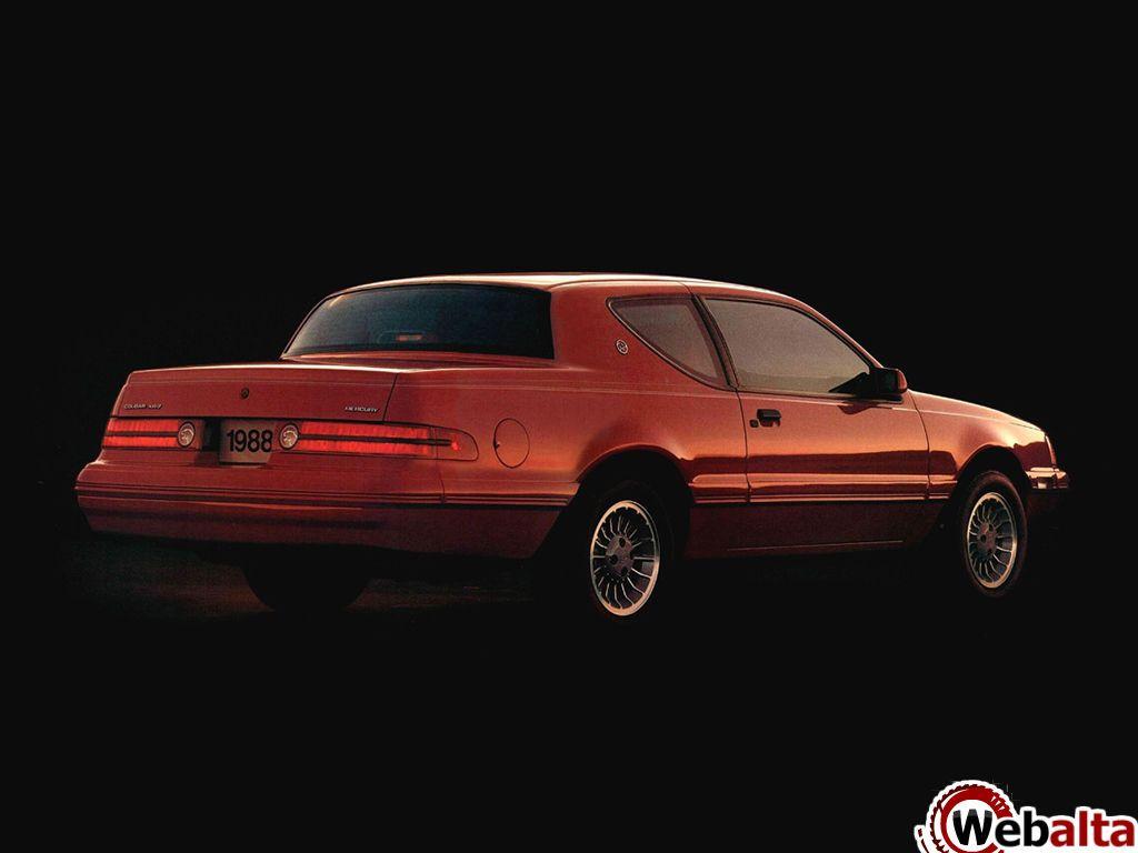 Mercury cougar 1987 88 lincoln mercurydream garagegalleriesvintage carsvehiclesmusclehtmlford