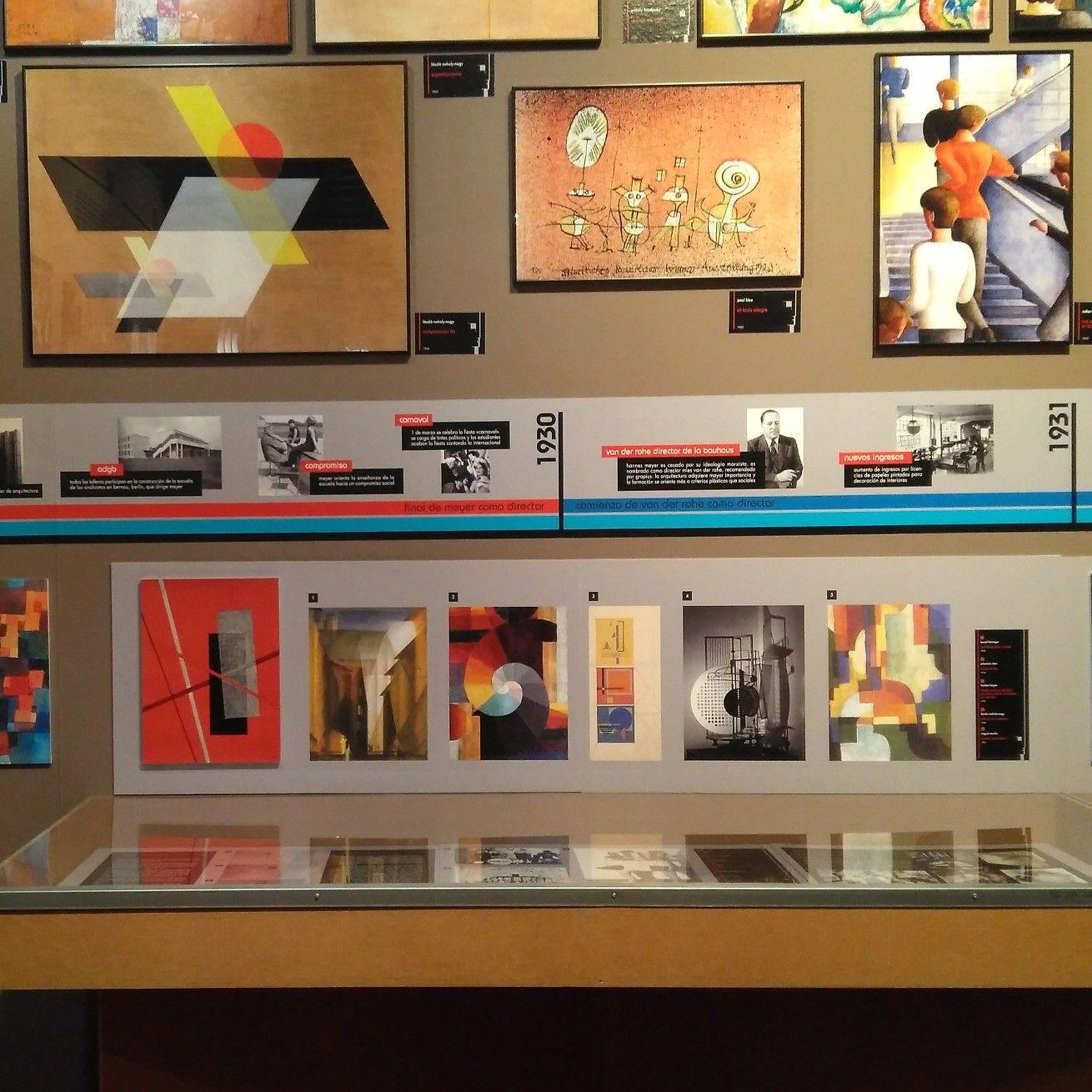 Exposicion Bauhaus Un Experimento Artistico Y Pedagogico En El