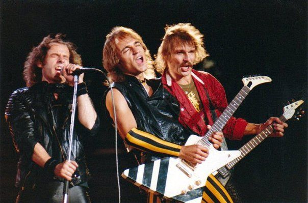 Scorpions :)   Rare Photos of Music Celebrities 4