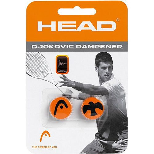 New Head Novak Djokovic Dampener Tennis Dampner Rare Tennis Novak Djokovic Tennis Gear