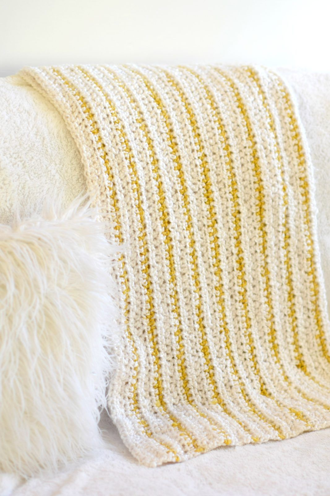 Soft Beginner Crochet Blanket Pattern | just cause | Pinterest