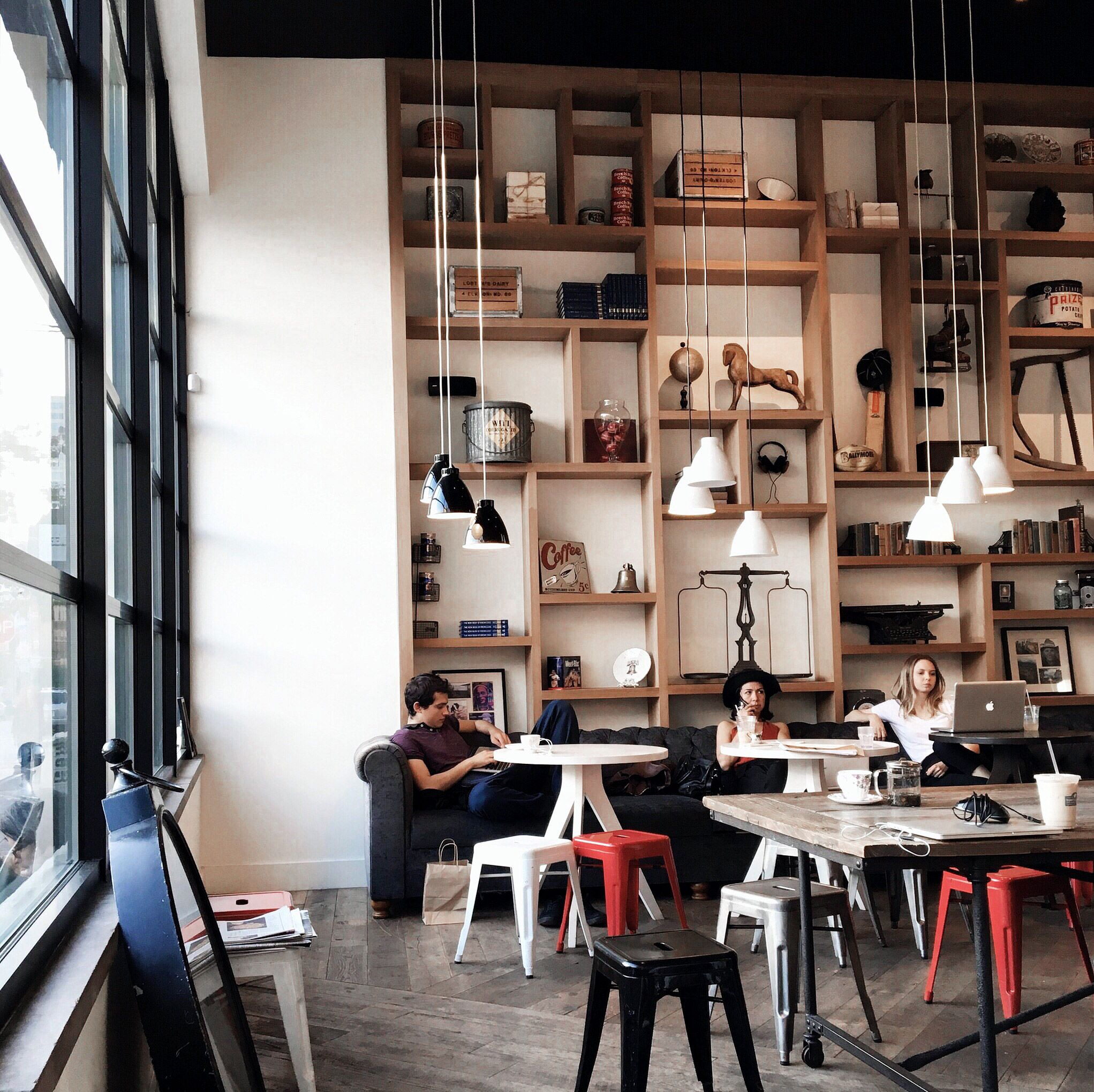 14 Coffee Shops to Visit in New York City (The Edit) | Pinterest