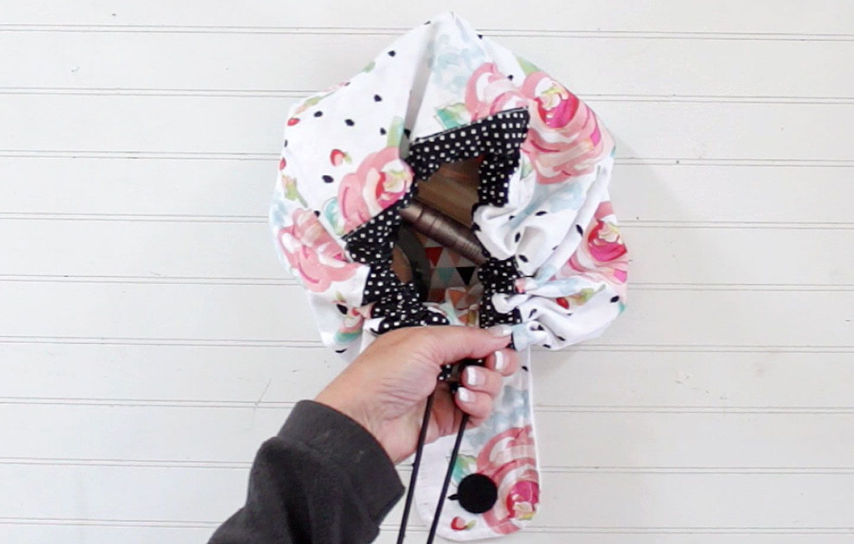 Sofia CinchUp Makeup Bag sewing pattern Bag patterns to