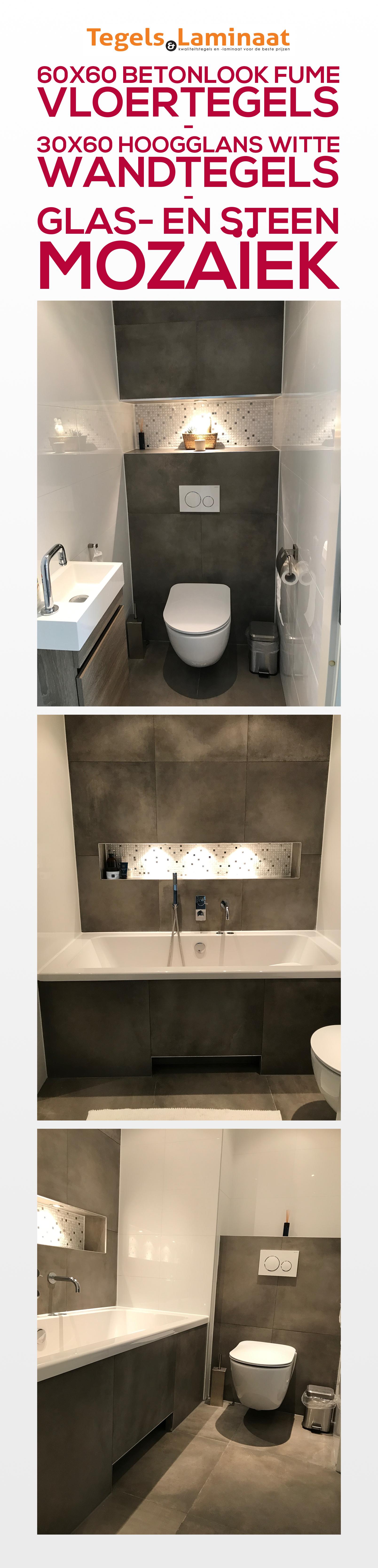 Resultaat van een zeer tevreden klant. De badkamer en toilet is ...