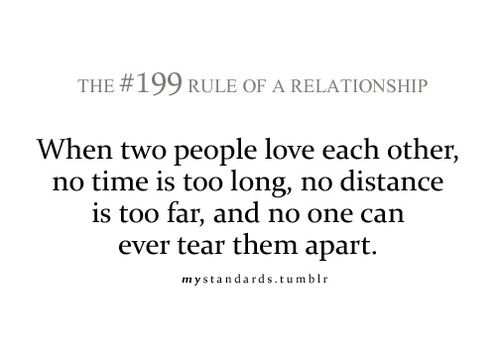 Quotes About True Love And Distance Distance means ...