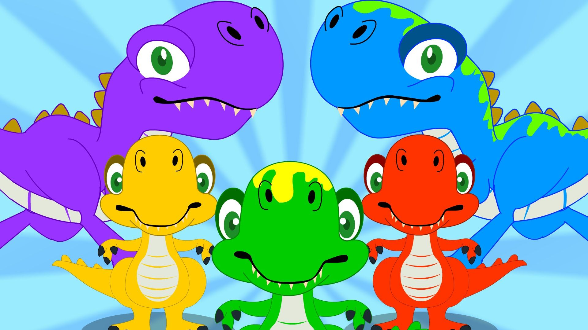 Five Little Dinosaurs