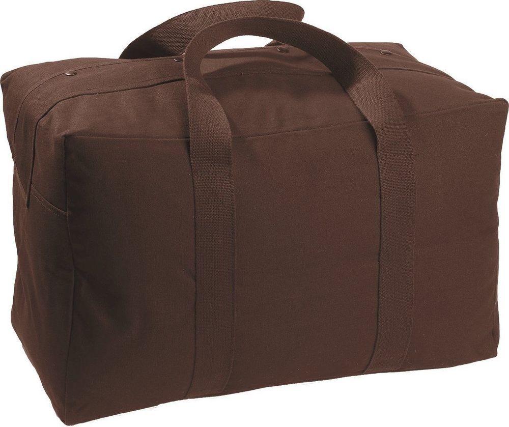 Dark Brown Military Parachute Cargo Bag  ArmyUniverse  MilitaryBag 272f1445980b