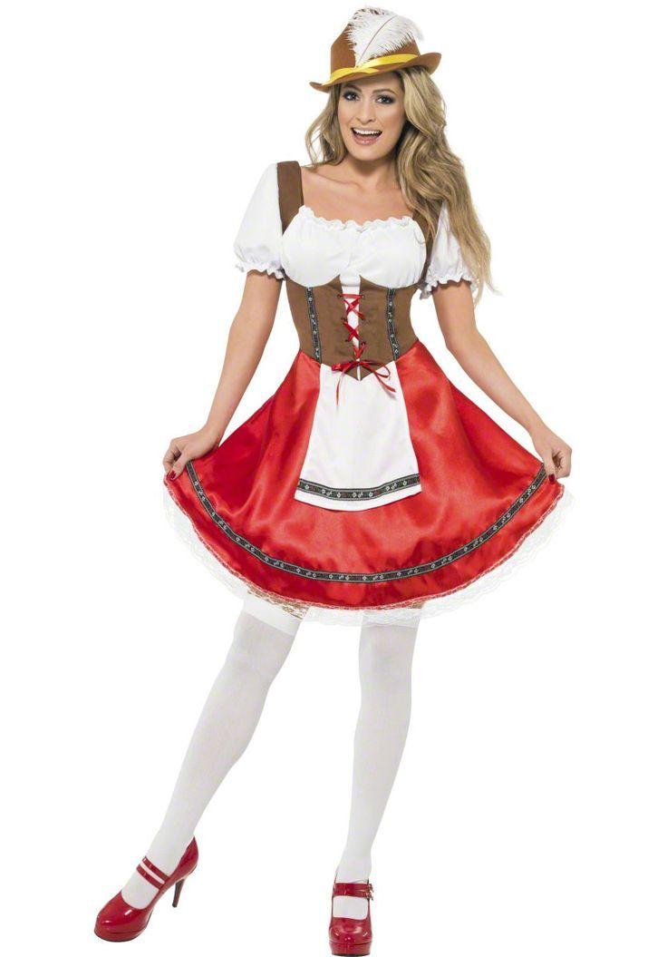 Deutsches Kostüm Dirnenkostüm Oktoberfest Bayerisches Bier