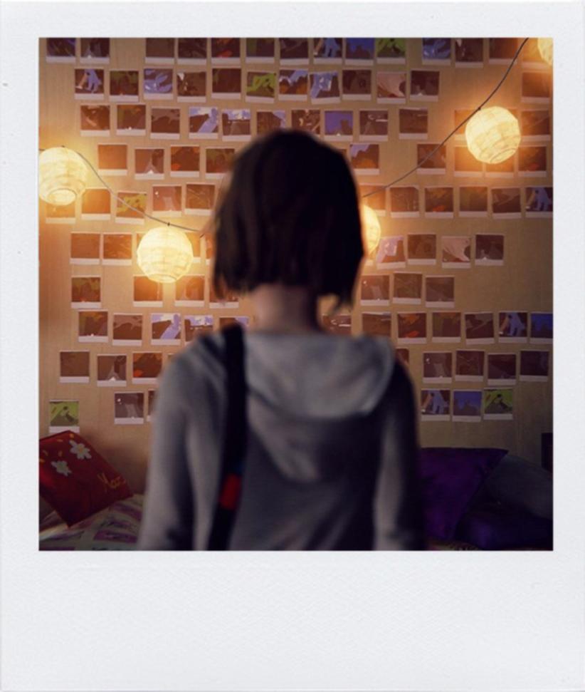 Life is strange Polaroid wall Life is strange, Papel