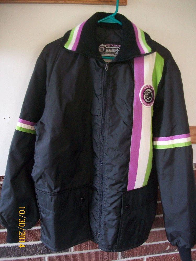 Vintage Artic Cat snowmobile coat unisex size M winter jacket ...