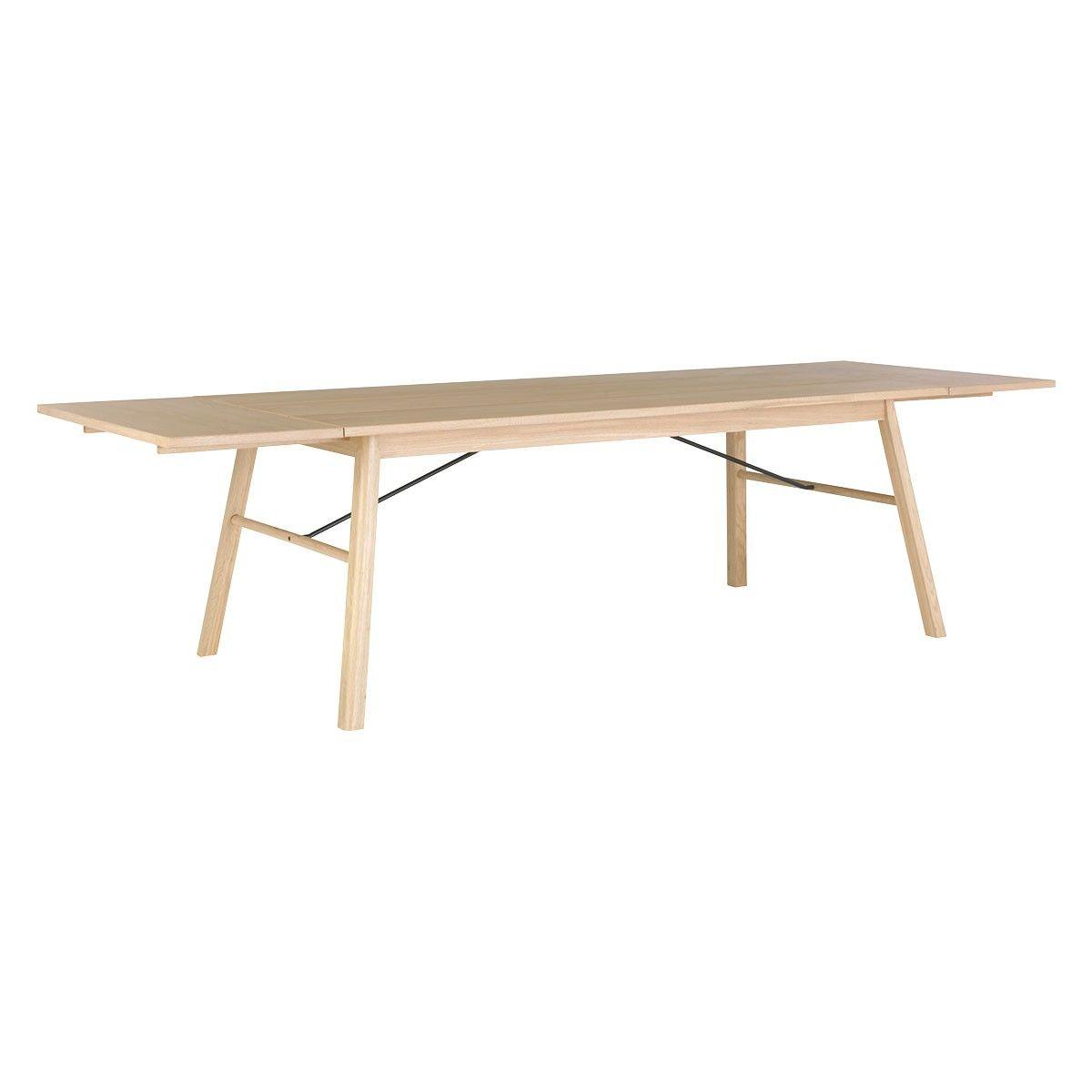 Atwood 8 12 Seat Oak Extending Dining Table Habitat 636