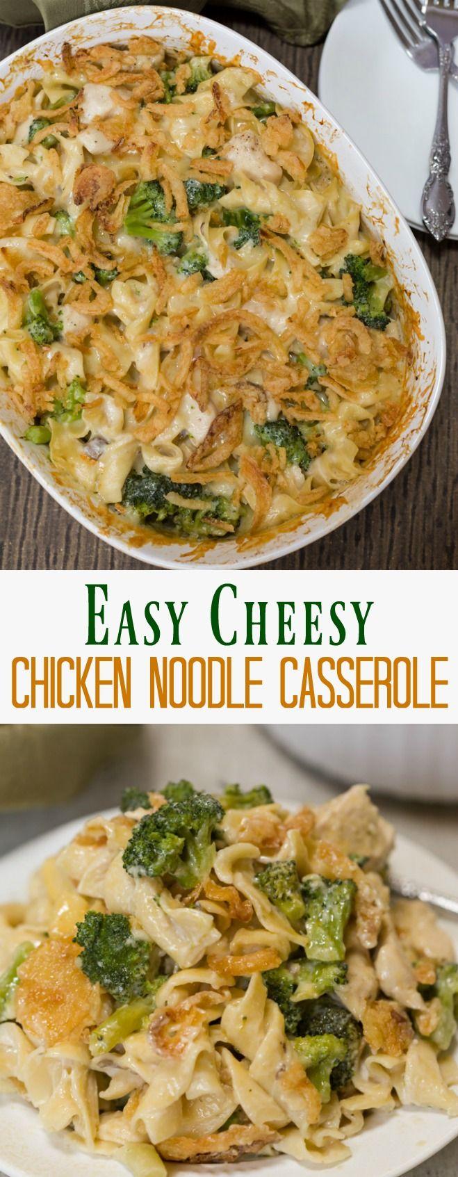A Savory Egg Noodle Casserole Made With A Creamy Mushroom -9630