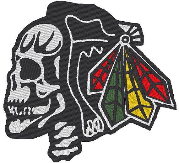 official photos bcd2d 2142f Blackhawks Skull logo | Chicago Blackhawks | Chicago ...