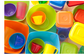 Good article on plastic leaching - this is why I handwash all the kids' plates & cups and I only heat things in glass.