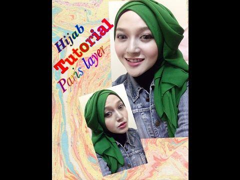Tutorial Hijab Layer Segi Empat Paris Youtube Hijab Tutorial Hijab Tutorial