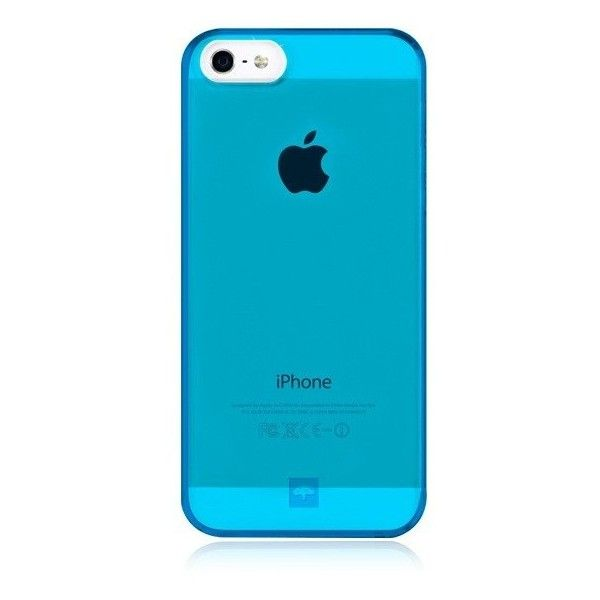 MINIMALIST Case For IPhone 5 Neon Blue ❤ Liked On Polyvore Featuring  Accessories, Tech Accessories