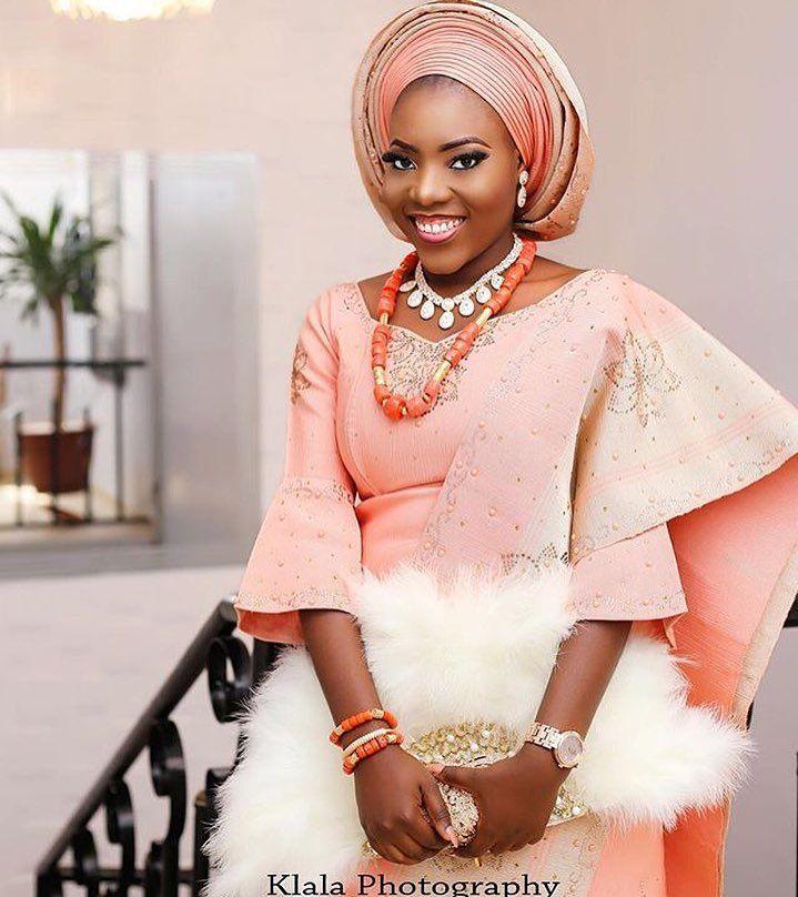Pretty Bride #asoebi #asoebispecial #speciallovers #makeup #wedding ...