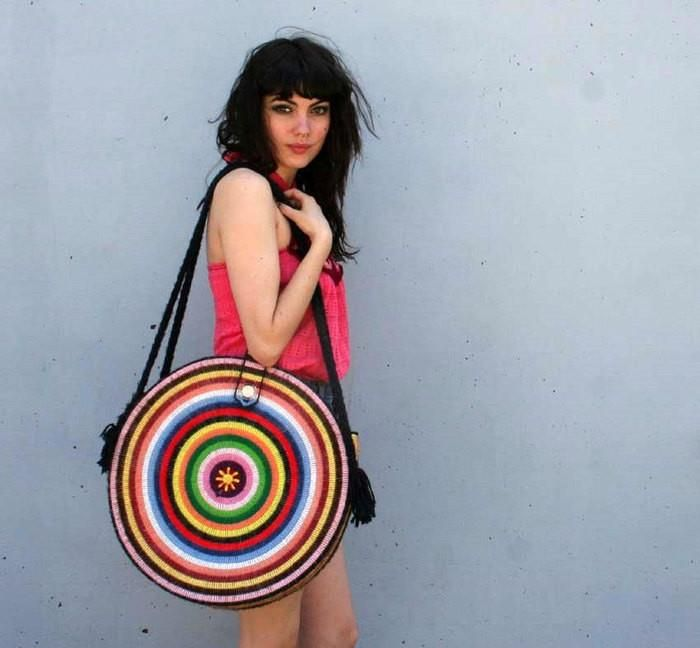 Boho Crochet Bag ~ Inspiration Only--the boho look appears to be very popular these days. Should I be paying attention?