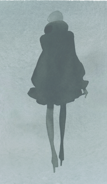 . Fashion Illustration by Mats Gustafson (Swedish, b. 1951) .