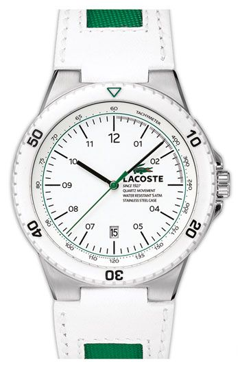 Lacoste 'Toronto' Round Chronograph Watch | Nordstrom