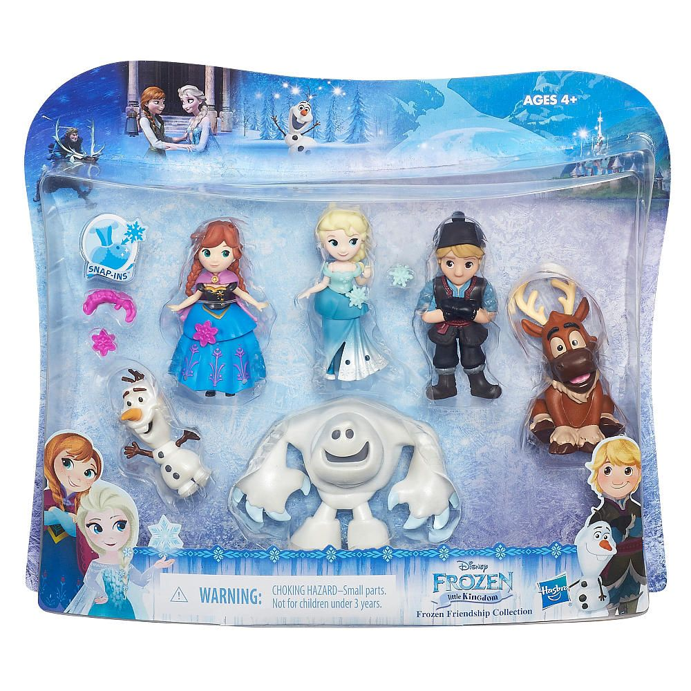 Disney Frozen Little Kingdom Frozen Friendship Collection From Hasbro Toys To Watch For In