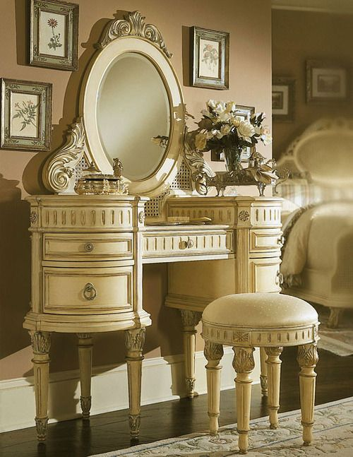 vanity, ummmm yessss!! i think all my makeup would fit quite nicely in there, don't you??