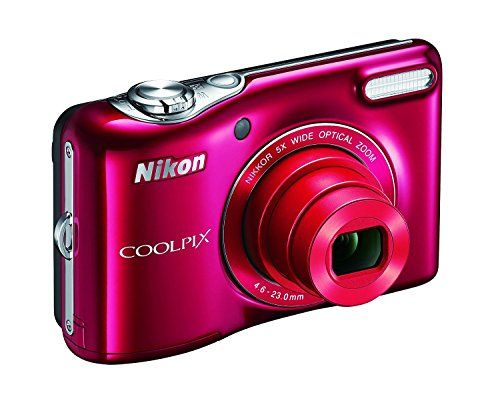 Nikon COOLPIX L32 Digital Camera with 5x Wide-Angle NIKKOR