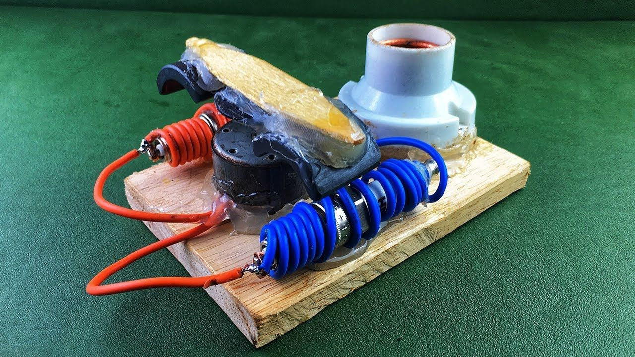 Free Energy Experiment Using Spark Plug With DC Motor Magnet | Free on