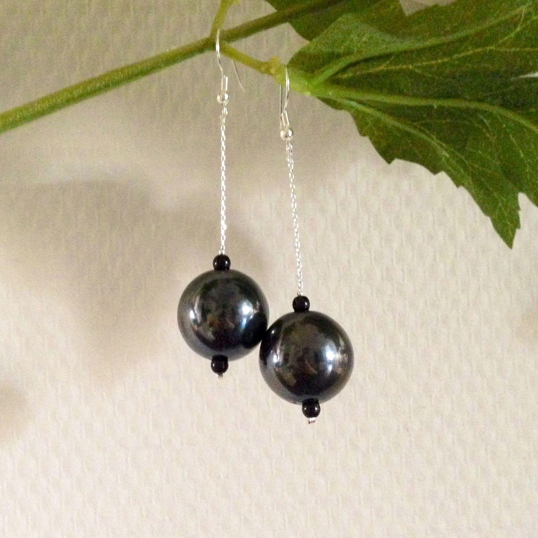 jewelry zilli boucles d 39 oreille pendantes grosses perles 05 boucles d 39 oreille par boutique. Black Bedroom Furniture Sets. Home Design Ideas