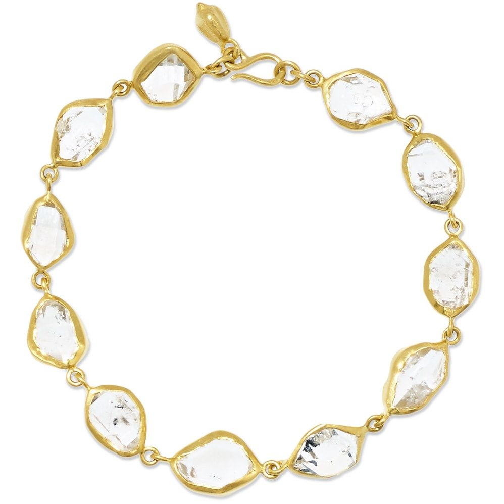 Pippa Small Herkimer Diamond Bracelet As Seen On Meghan