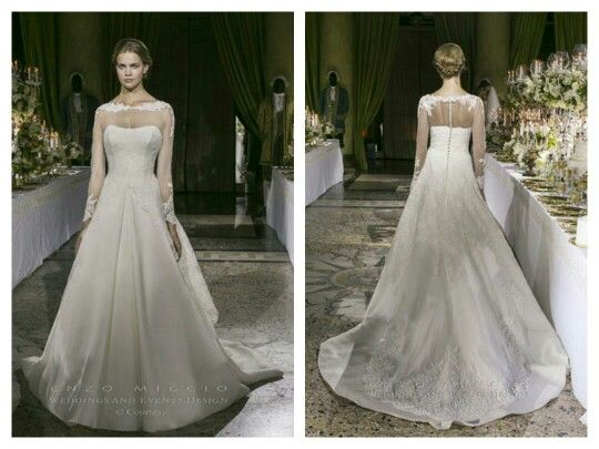 Enzo Miccio Wedding Dress Maria Cristina