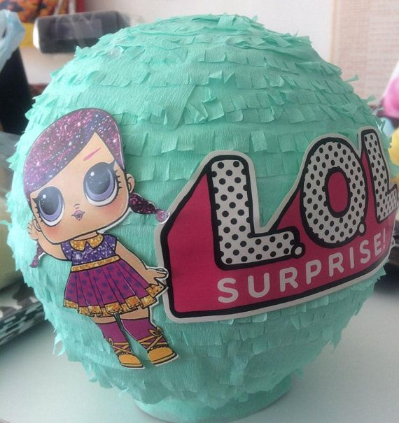 Beautiful Piñata For A Lovely Decor Of The Beautiful Lol