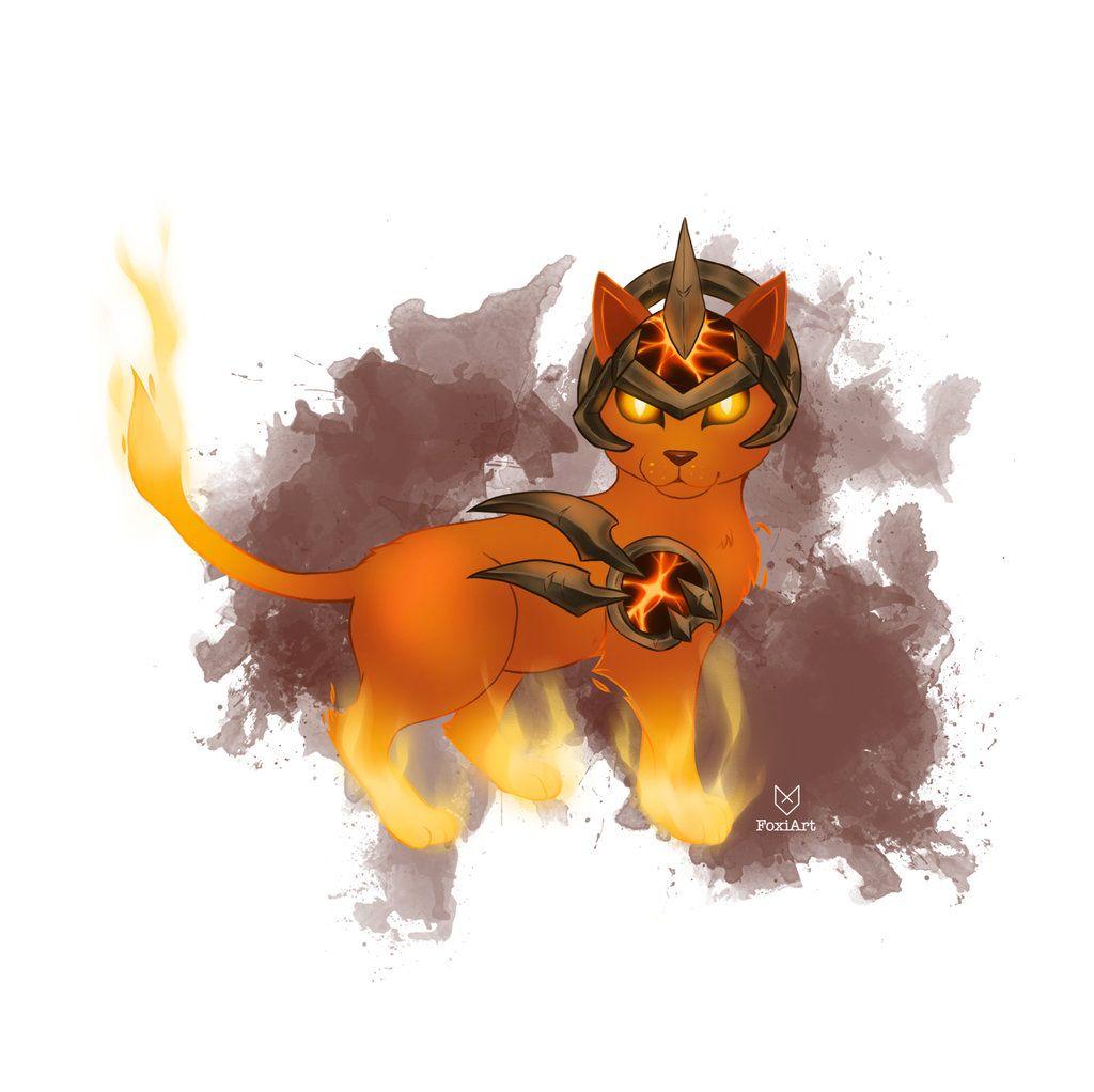 Commission Cinder Kitten Ember worldofwarcraft WoW