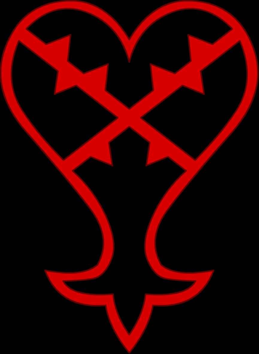 Heartless Symbol I Might Get This On My Right Thigh And The Nobody
