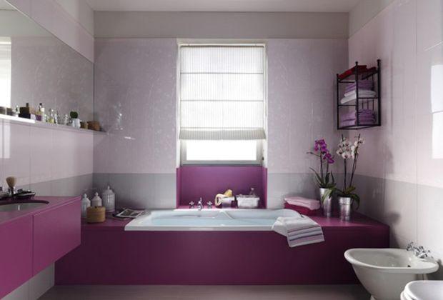 Deco de salle de bain  à chacune sa couleur Decoration  Design