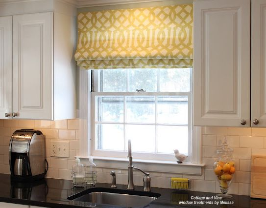 Tip Top, Top Treatments | Kitchen window treatments, Window and ...