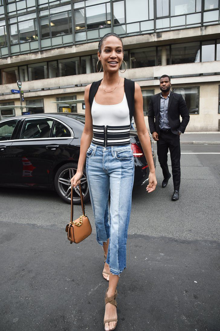 Pin for Later: 12 Times Joan Smalls's Outfit Flat Out Blew Us Away  At Paris Haute Couture Fashion Week on July 3.