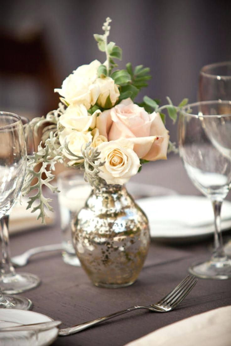 Romantic Wedding Centerpieces Weddings Simple Table Decor Ideas Diy ...