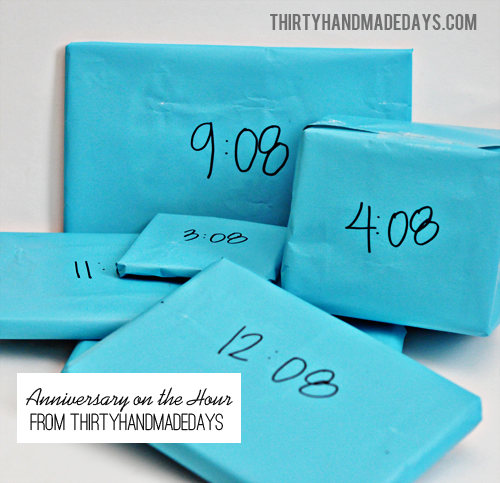 Anniversary Gifts: On the Hour | Anniversaries, Anniversary gifts ...