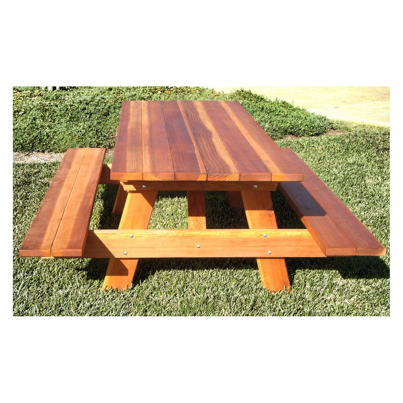 Patio Furniture Redwood City: Outdoor Best Redwood Traditional Picnic Table