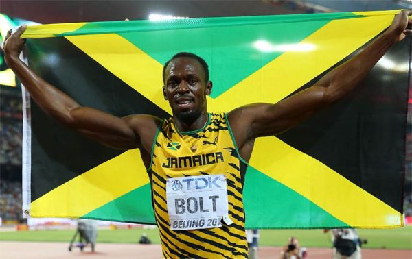 Usain Bolt In Brazil for his final olympics.