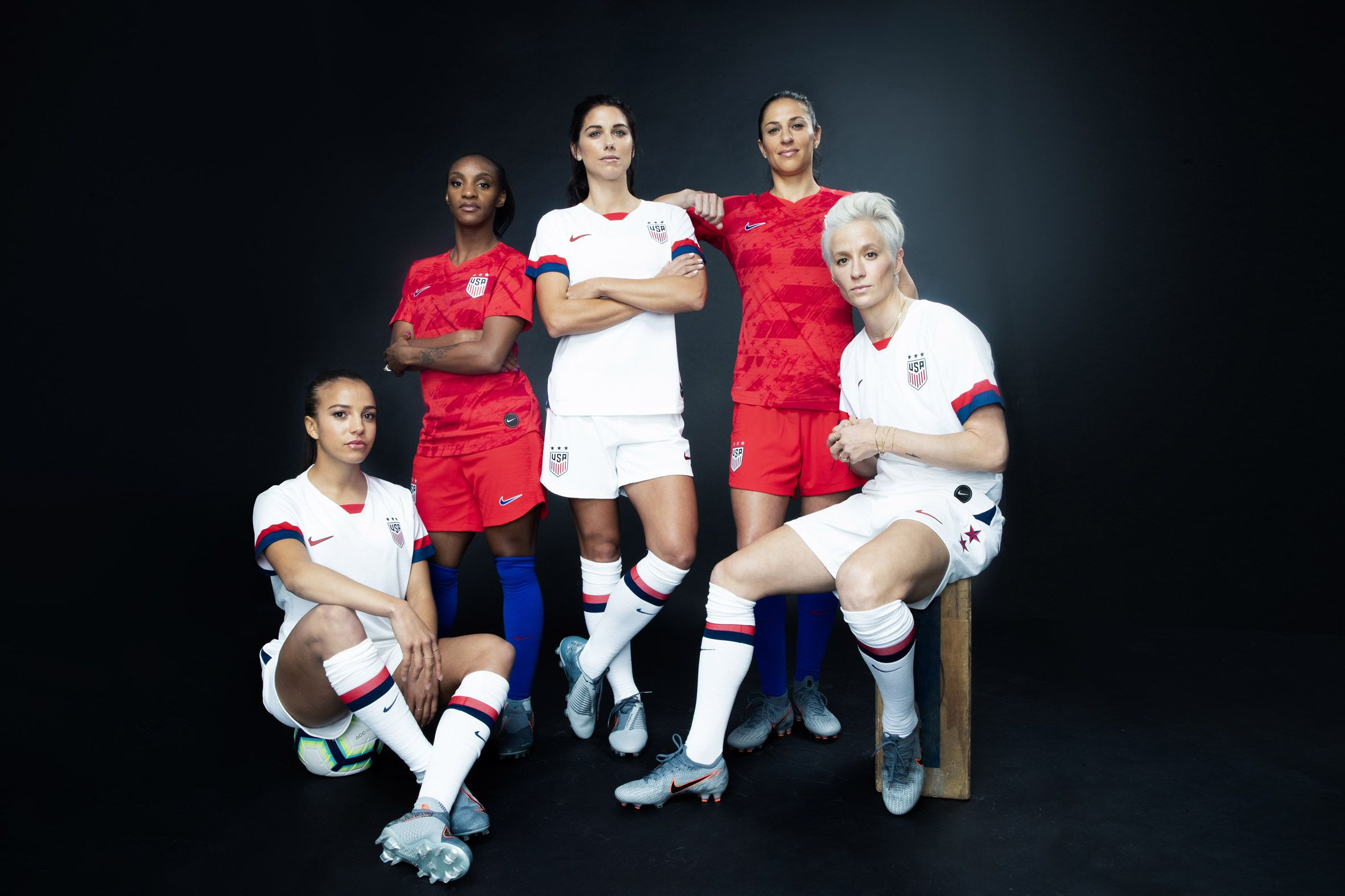 Nike Unveils Women S World Cup Kits 2019 For 14 National Teams Us Women S National Soccer Team Usa Soccer Women Soccer Team