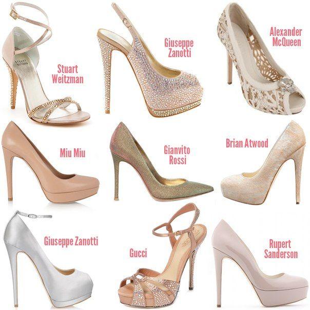 Брендовые туфли от известных дизайнеров и модельеров