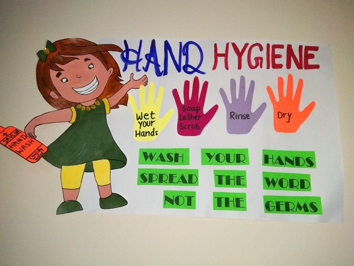 Hand Hygiene Hand Wash Steps Chart For Kids Education