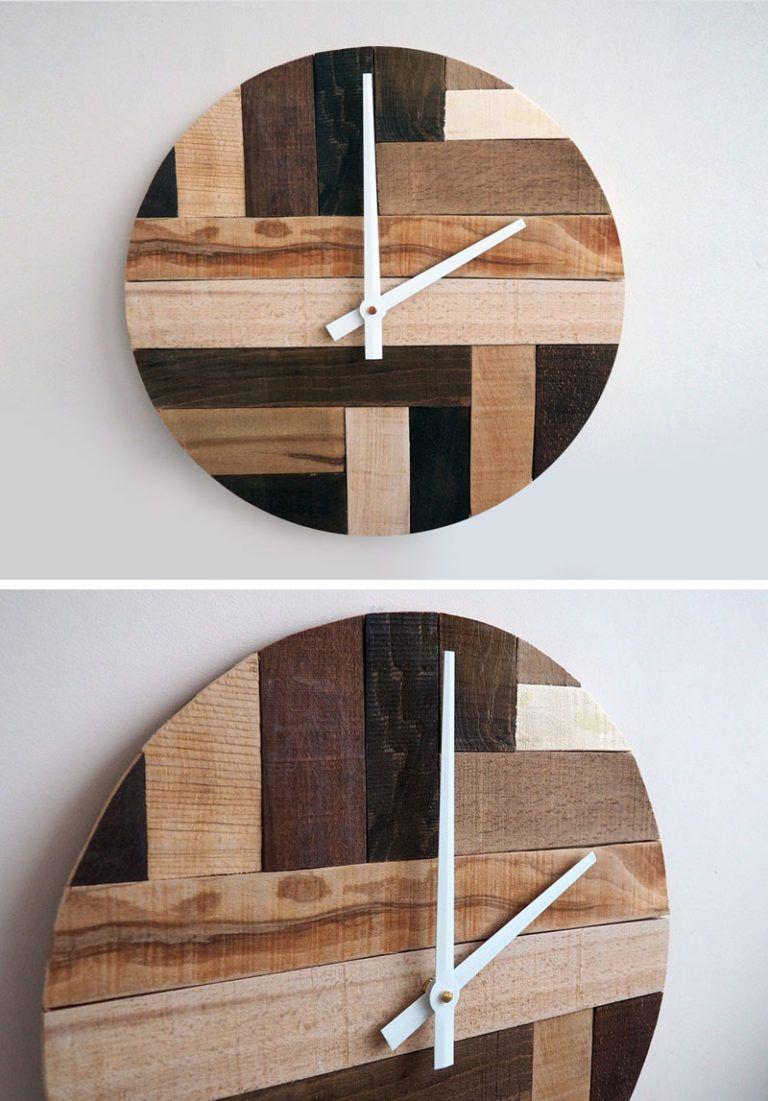 Wood Wall Clocks To Spruce Up Any Decor