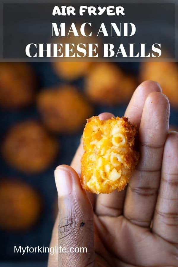 Photo of Air Fried Macaroni and Cheese Balls – My Forking Life